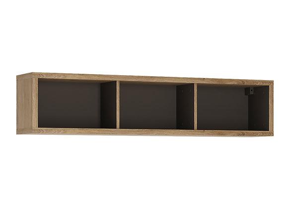 Wide wall shelf
