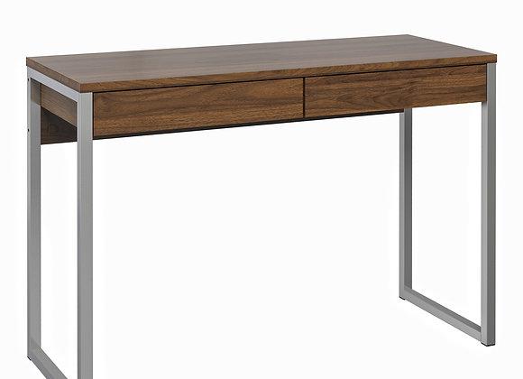 Desk 2 Drawers in Walnut