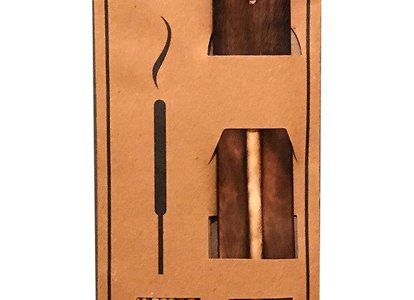 20 Fragranced Incense Sticks With Holder - Vanilla