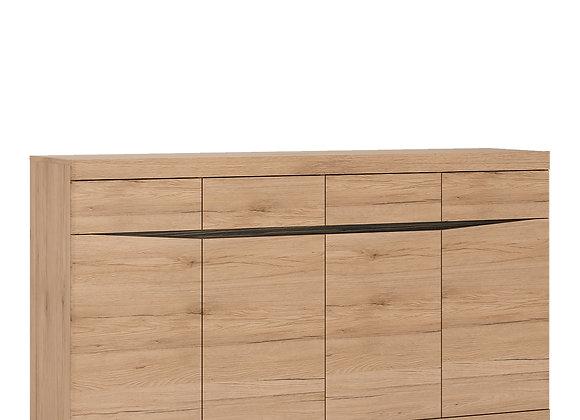 Wide 4 Drawer 4 door Sideboard