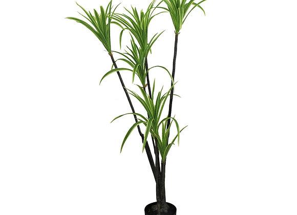 Artificial Dracaena Marginata tree, 120cm