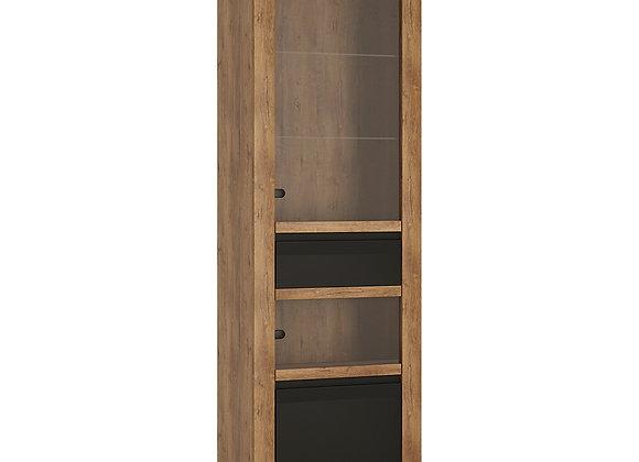 1 door 1 drawer display cabinet