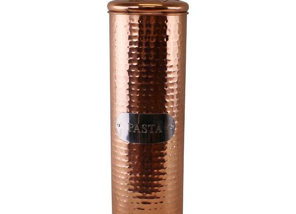 Hammered Copper Pasta Tin, 30x10cm