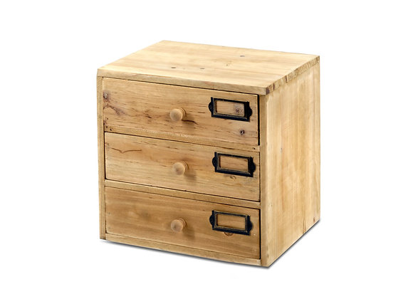 Storage Drawers (3 drawers) 28 x 23 x 28 cm