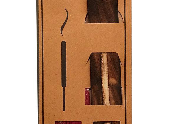 20 Fragranced Incense Sticks With Holder - Rose