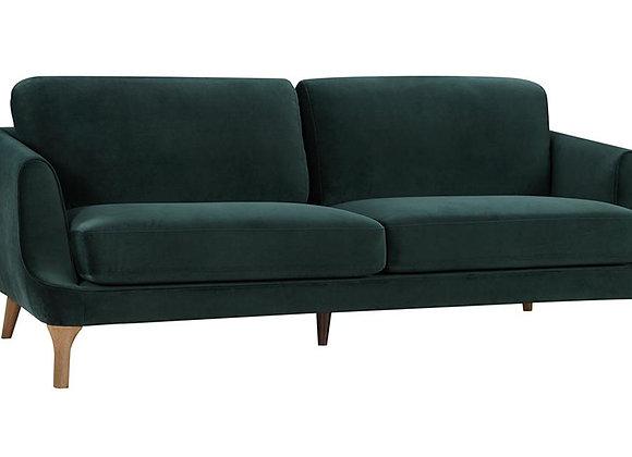 Gustav 3-Seater Sofa - Forest Green