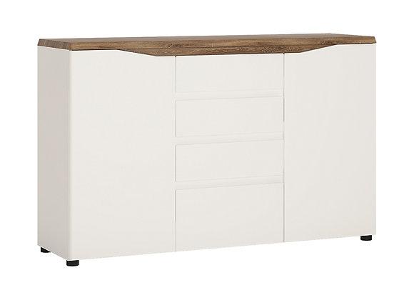 2 door 4 drawer sideboard