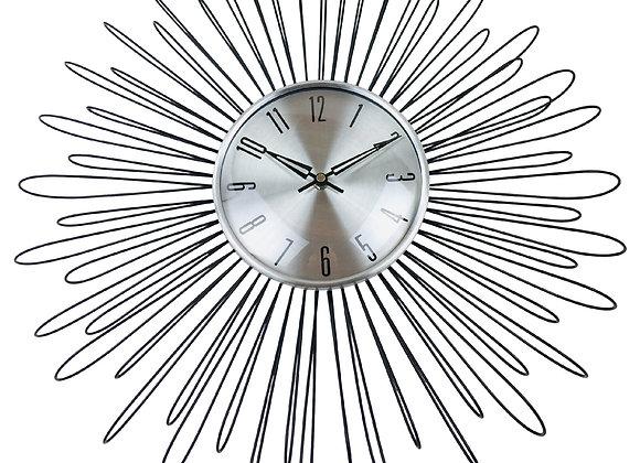 Looping Wire Design Metal Wall Clock 48cm