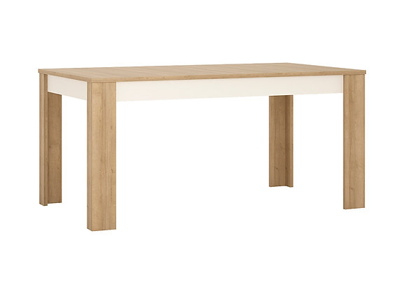 Large extending dining table 160/200 cm