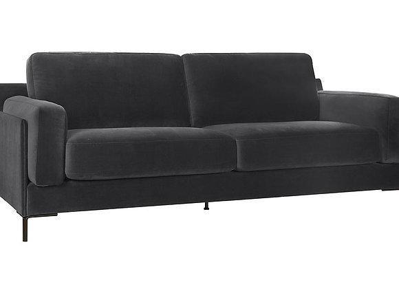 Aubyn 3-Seater Sofa - Dark Grey