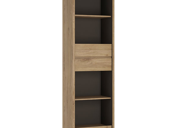 Tall Narrow 3 Drawer bookcase