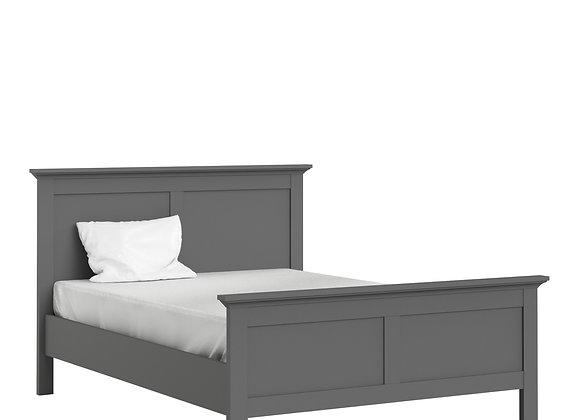 Double Bed 4ft6 (140 x 190) in Matt Grey