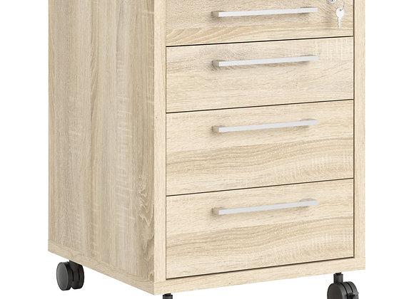 Prima Mobile cabinet n Oak