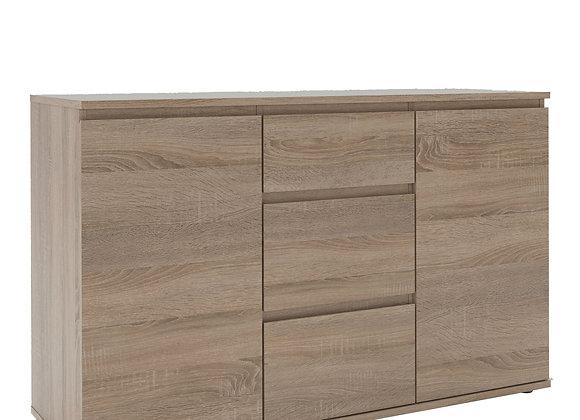 Sideboard - 3 Drawers 2 Doors in Truffle Oak