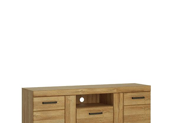 2 door 1 drawer tall TV cabinet