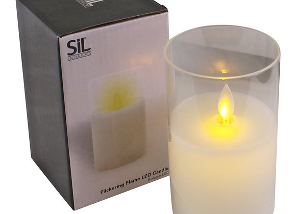 Small LED Flickering Candle