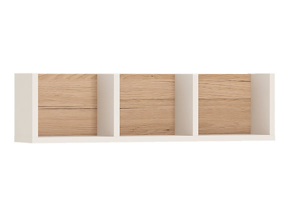 70cm Sectioned Wall Shelf