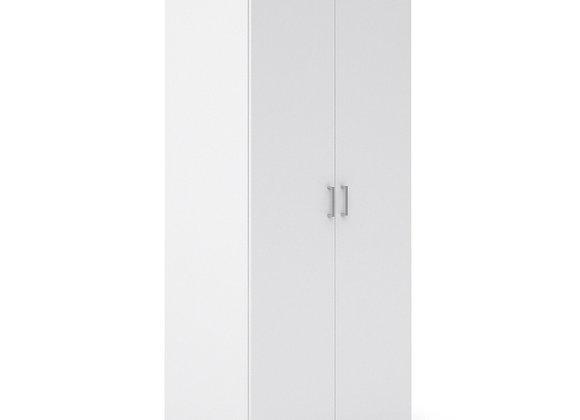 Wardrobe with 2 doors (175) White