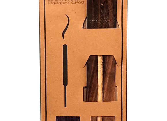 20 Fragranced Incense Sticks With Holder - Lavender