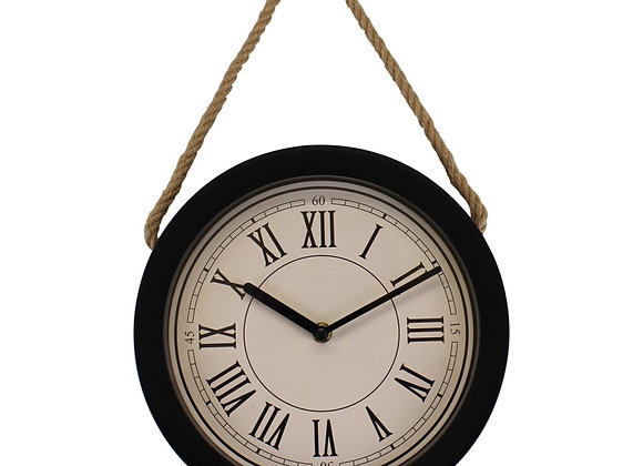 Small Rustic Wall Hanging Clock