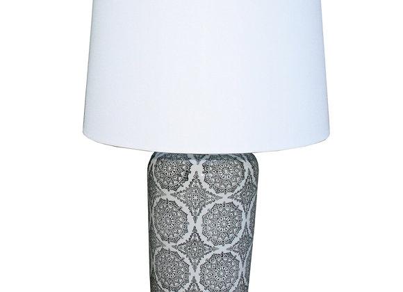 Black Mandala Lamp 63.5cm