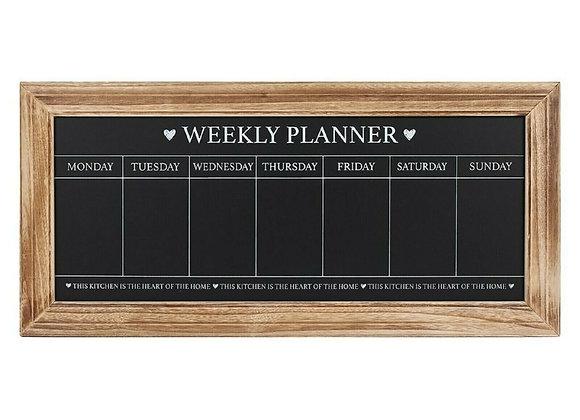 Chalkboard Weekly Planner