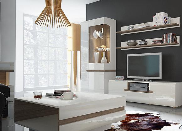 Tall Glazed Wide Display unit (LHD)