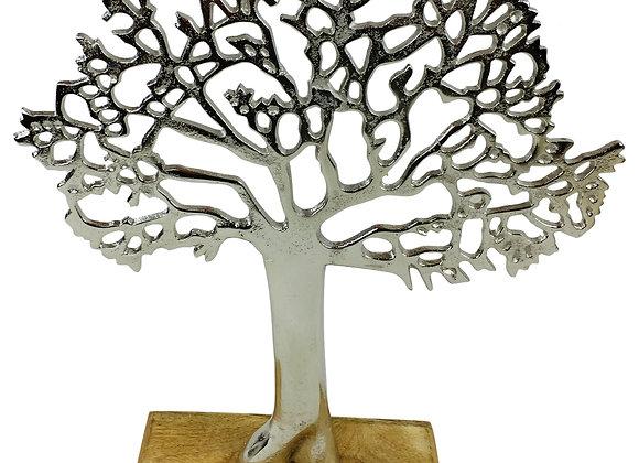 Silver Tree Ornament 26.5cm