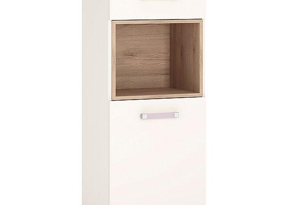 1 Door 1 Drawer Narrow Cabinet