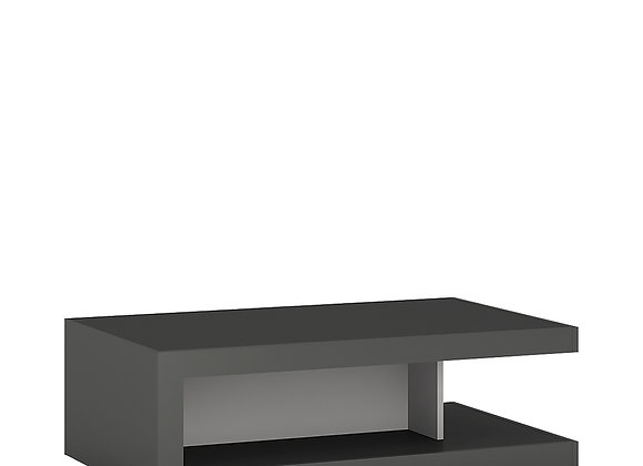 Designer coffee table on wheels