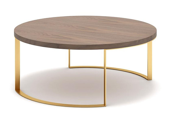 Lunato Coffee Table - Walnut