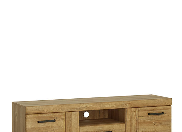 2 door 1 drawer wide TV cabinet