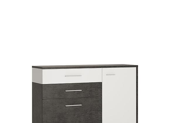 1 door 2 drawer 1 compartment sideboard