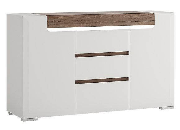 2 Door 3 Drawer Sideboard (inc Plexi Lighting)