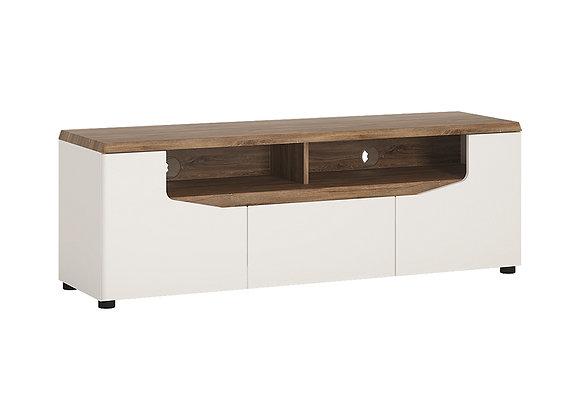 2 door 1 drawer TV unit