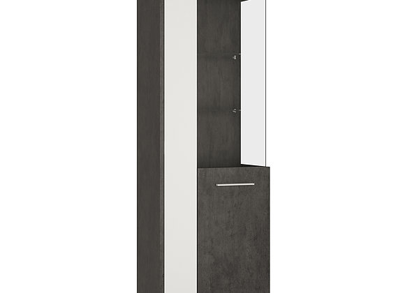 Tall Glazed display cabinet (RH)