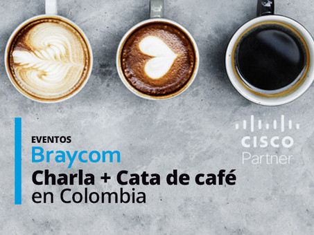 Evento Webinar Cisco ciberseguridad + cata de café