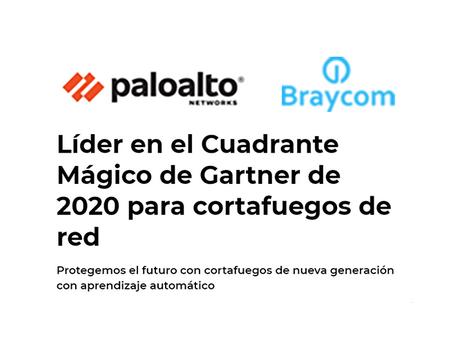 Palo Alto es líder en el Cuadrante Mágico de Gartner de 2020 para cortafuegos de red