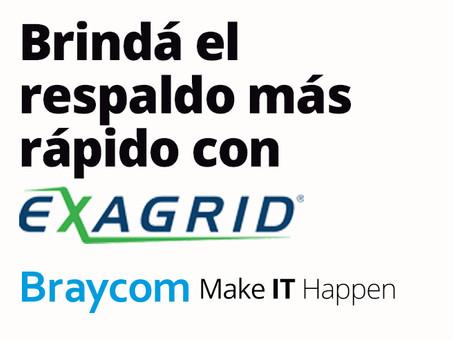 Exagrid anuncia su record en ventas e ingresos en la primera parte del 2021.