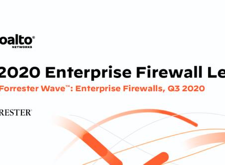 Palo Alto obtuvo las puntuaciones más altas en The Forrester Wave™: Enterprise Firewalls, Q3 2020