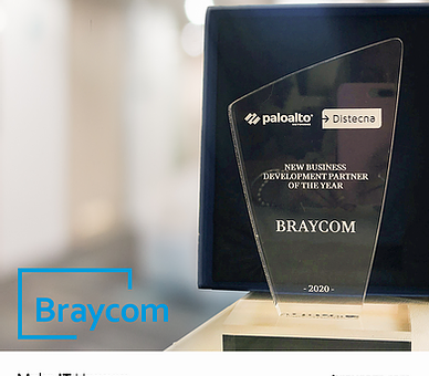 "Palo Alto Premió a Braycom como el ""New Business Development Partner of the Year"""