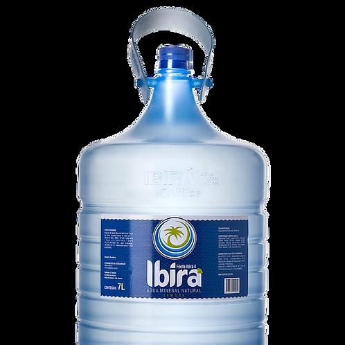 ÁGUA IBIRÁ (pH 10,24) - 7 litros