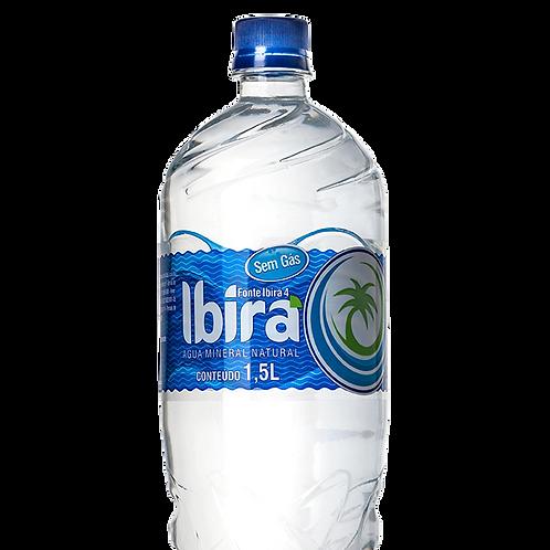 ÁGUA IBIRÁ (pH 10,24) - 1,5 litros
