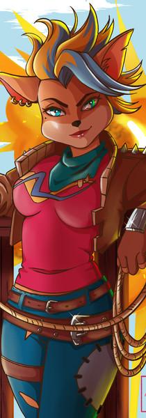 Tawna - Crash Bandicoot 4