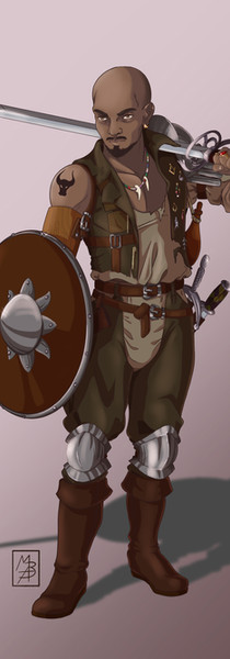 Mercenario di Warhammer