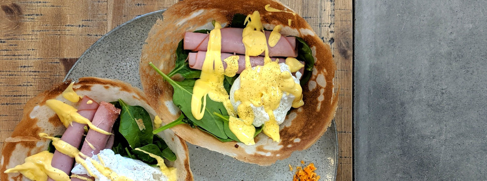 Sri Lankan Style Eggs Benedict