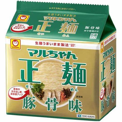 4901990513364マルちゃん正麺 豚骨 5食