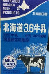 4955447100218北海道3.6牛乳 1000ml