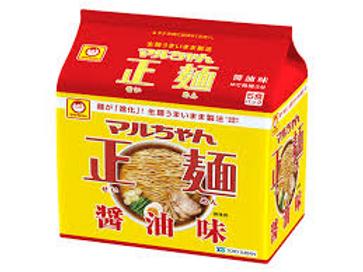 4901990513043マルちゃん正麺 しょうゆ 5食
