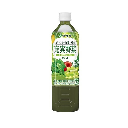 4901085603406充実野菜 緑の野菜ミックス PET 930g